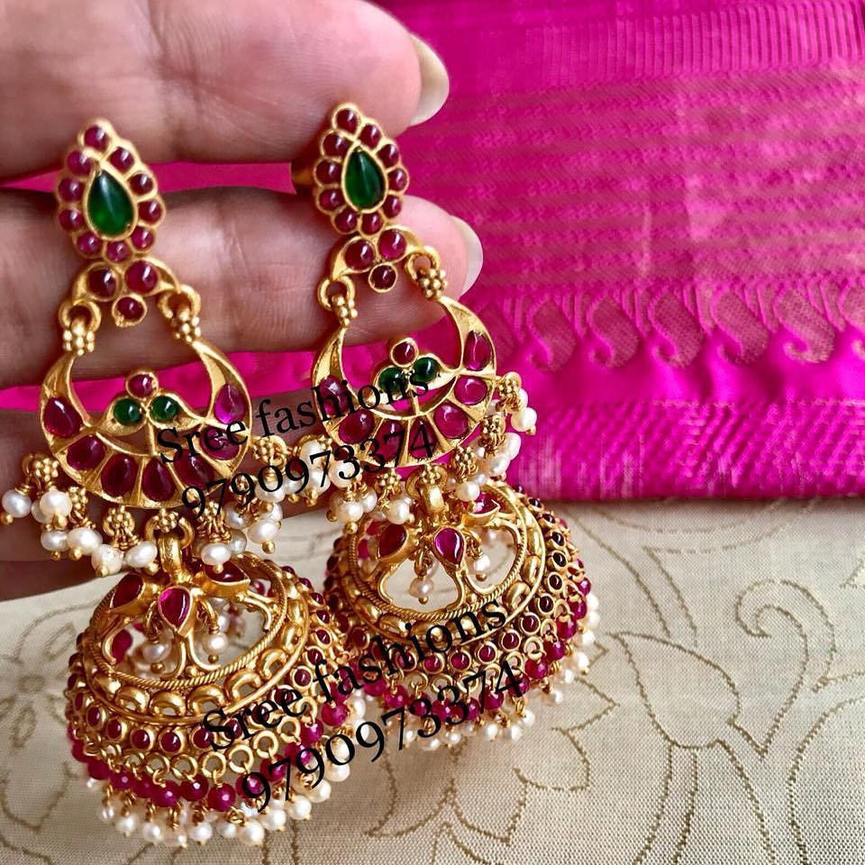 unique-jhumka-designs-2019 (13)