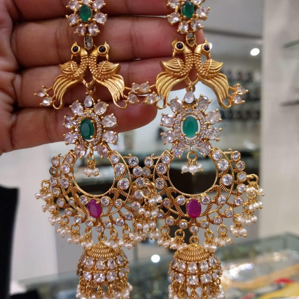unique-jhumka-designs-2019 (2)