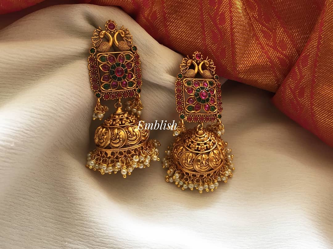unique-jhumka-designs-2019 (8)