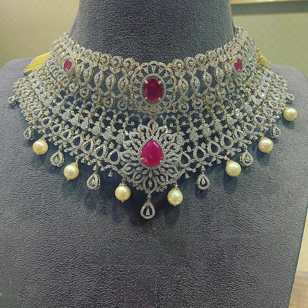 diamond-choker-necklace-designs-2019 (4)