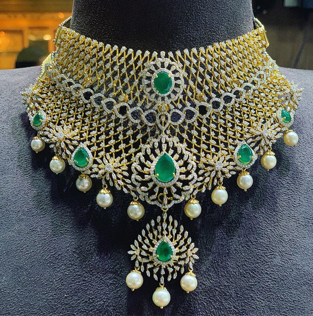 diamond-choker-necklace-designs-2019 (8)