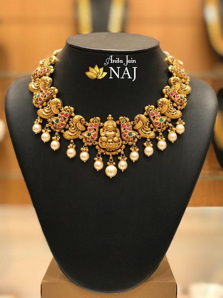 gold-antique-jewellery-designs-2019 (2)