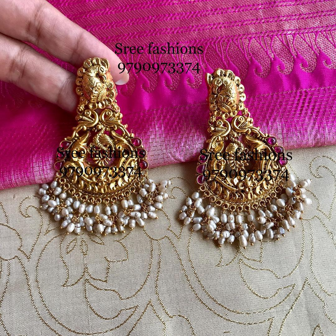 gold-plated-silver-antique-jewellery-designs-2019 (10)