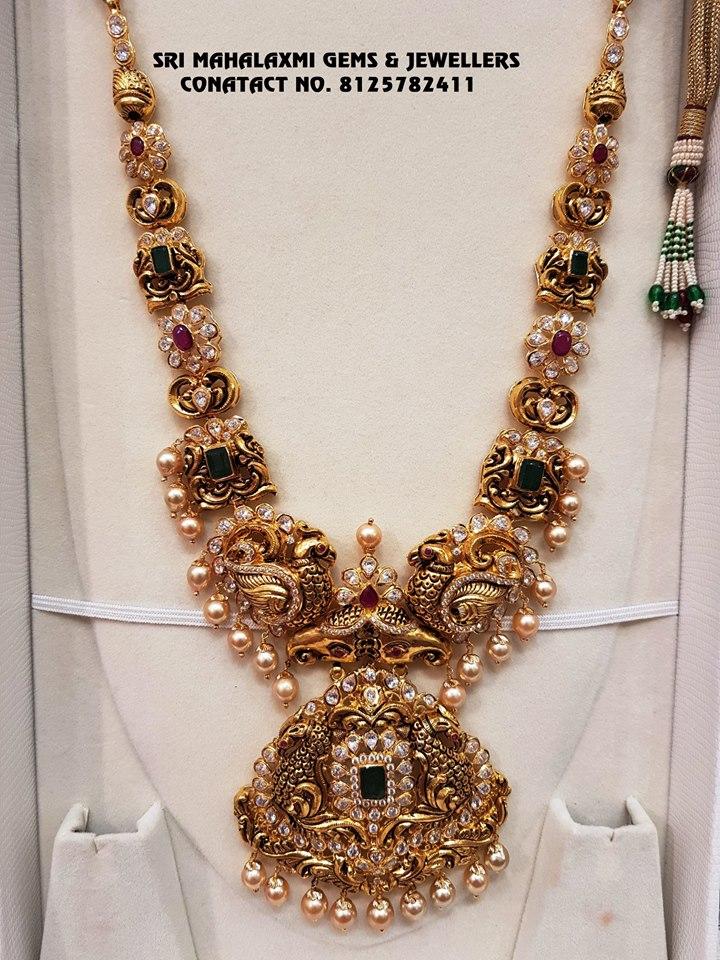 shop-south-indian-gold-haram-designs-online (5)