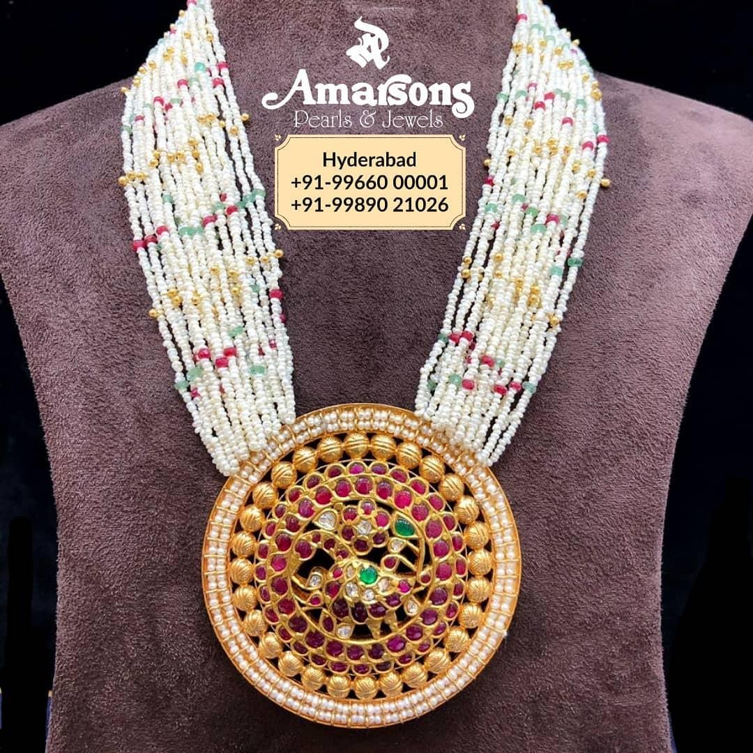 shop-south-indian-gold-haram-designs-online (8)