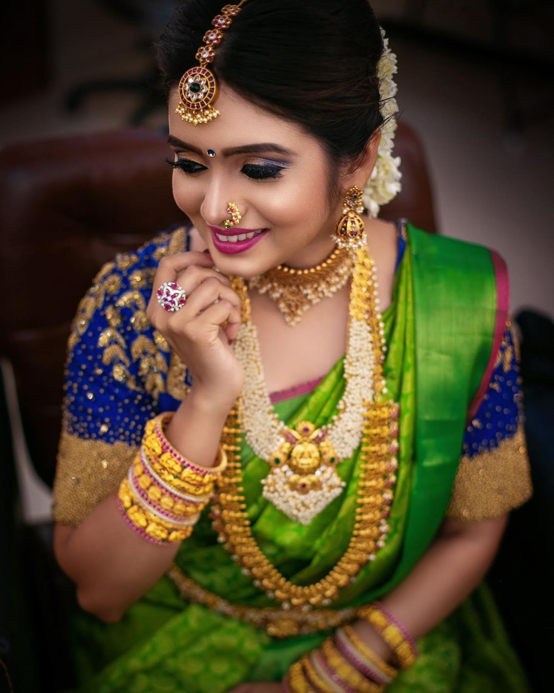 Artificial bridal jewellery sets(11)