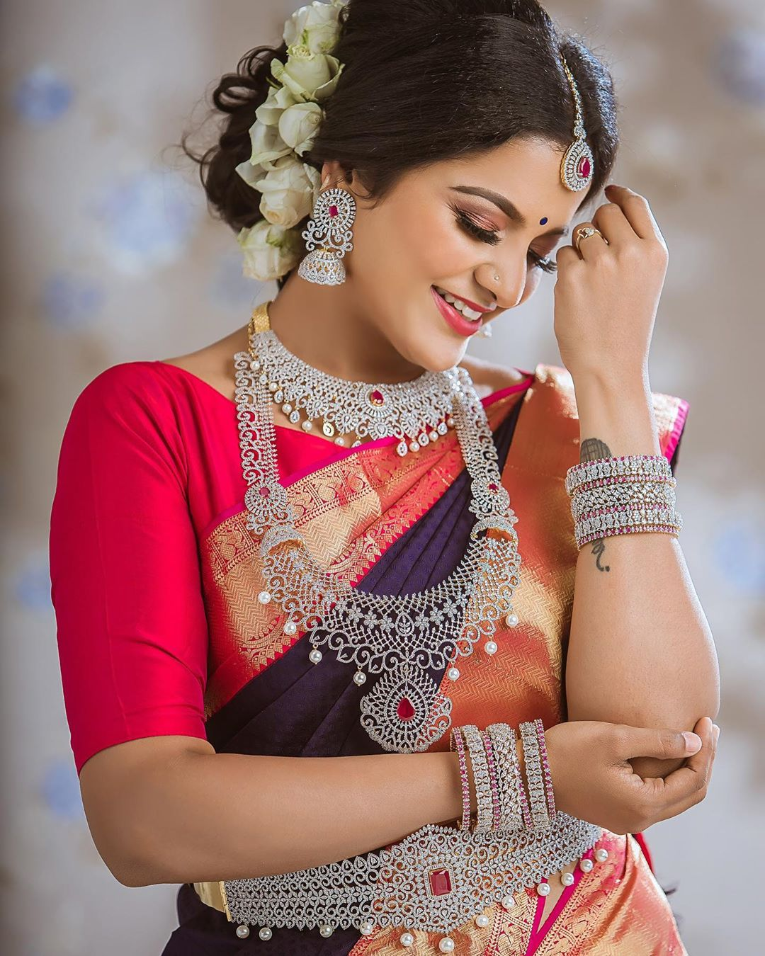Artificial bridal jewellery sets(6)