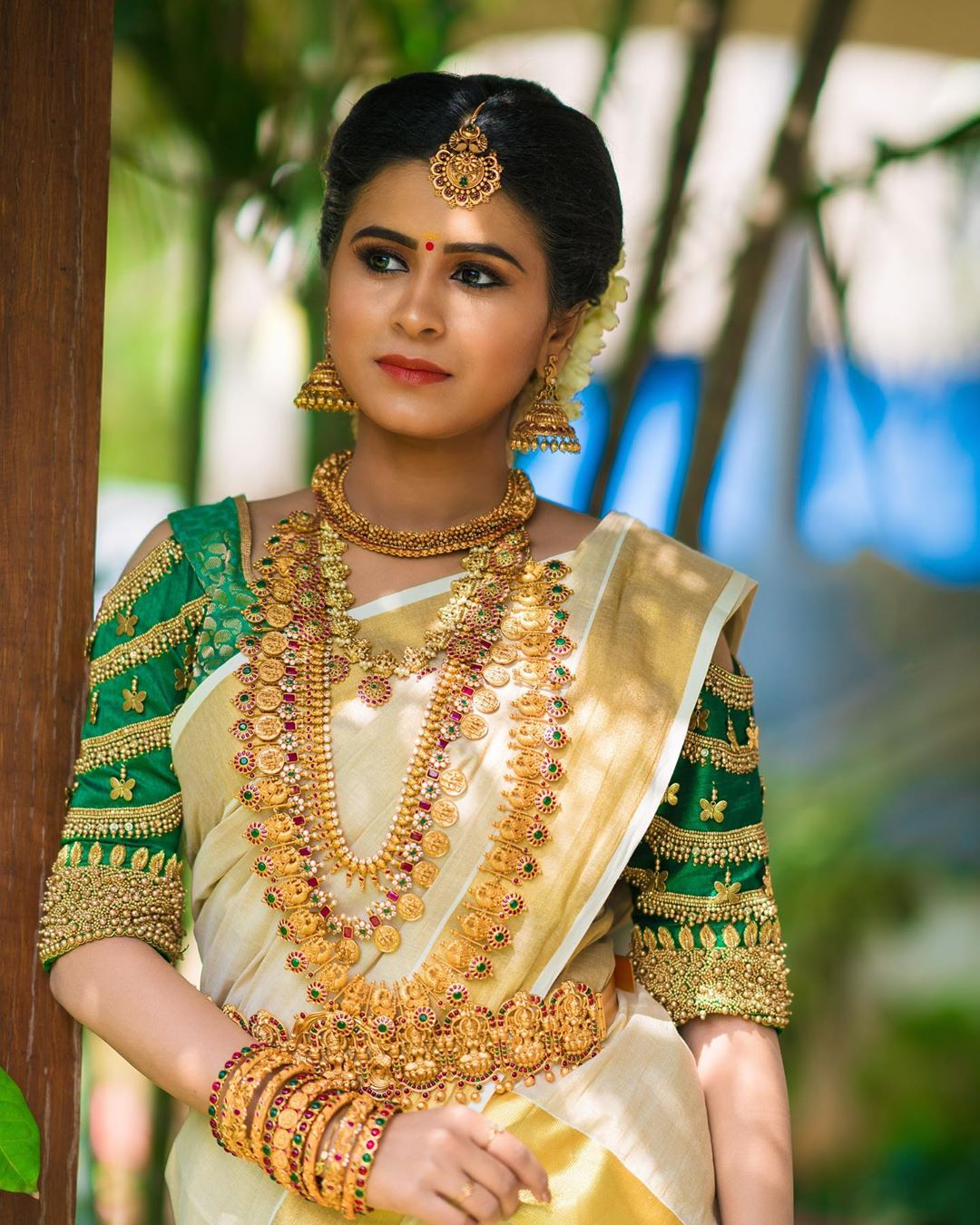 Artificial bridal jewellery sets(8)