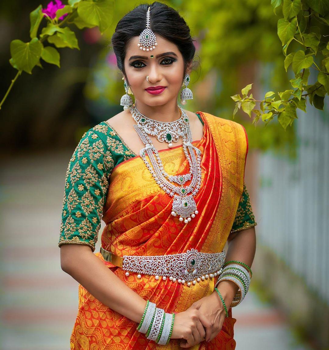 Artificial bridal jewellery sets(9)