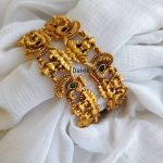 You Can Shop Pretty Gold Plated Bangle Designs Here