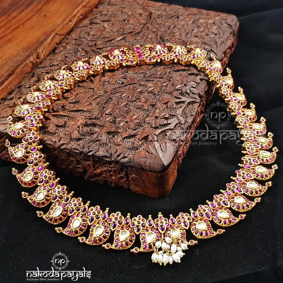 Mango-necklace-haram-designs (10)