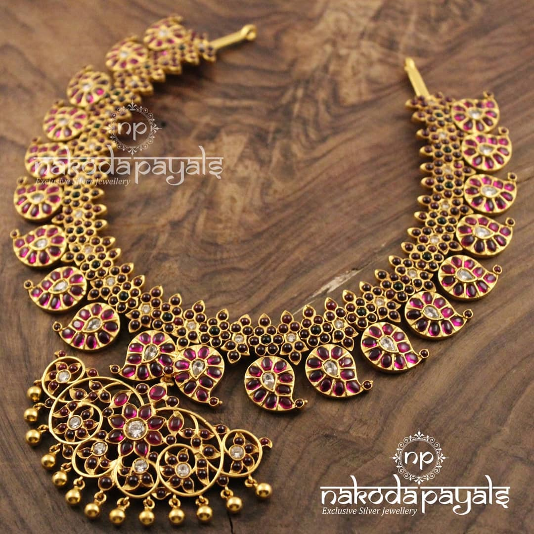 Mango-necklace-haram-designs (12)