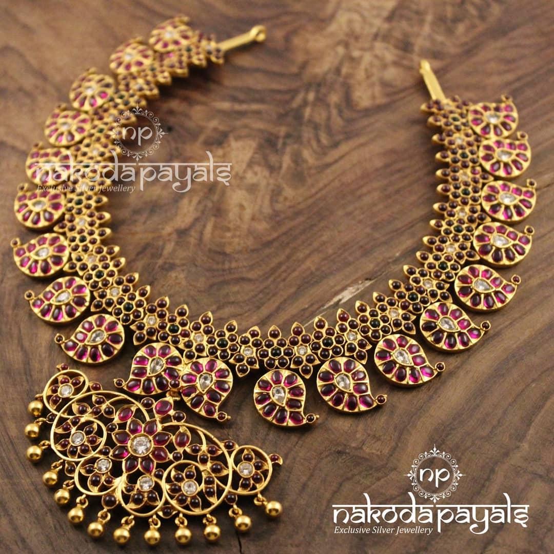 Mango-necklace-haram-designs (12)