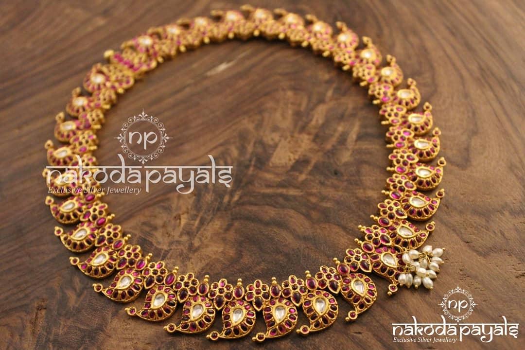 Mango-necklace-haram-designs (13)
