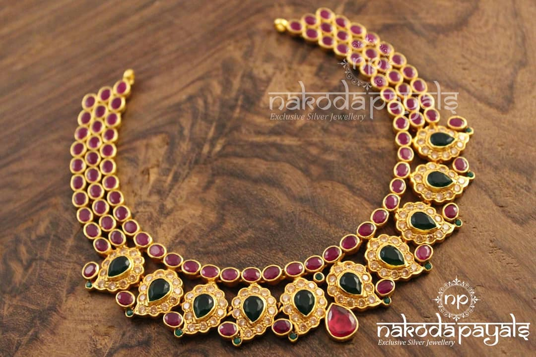 Mango-necklace-haram-designs (15)
