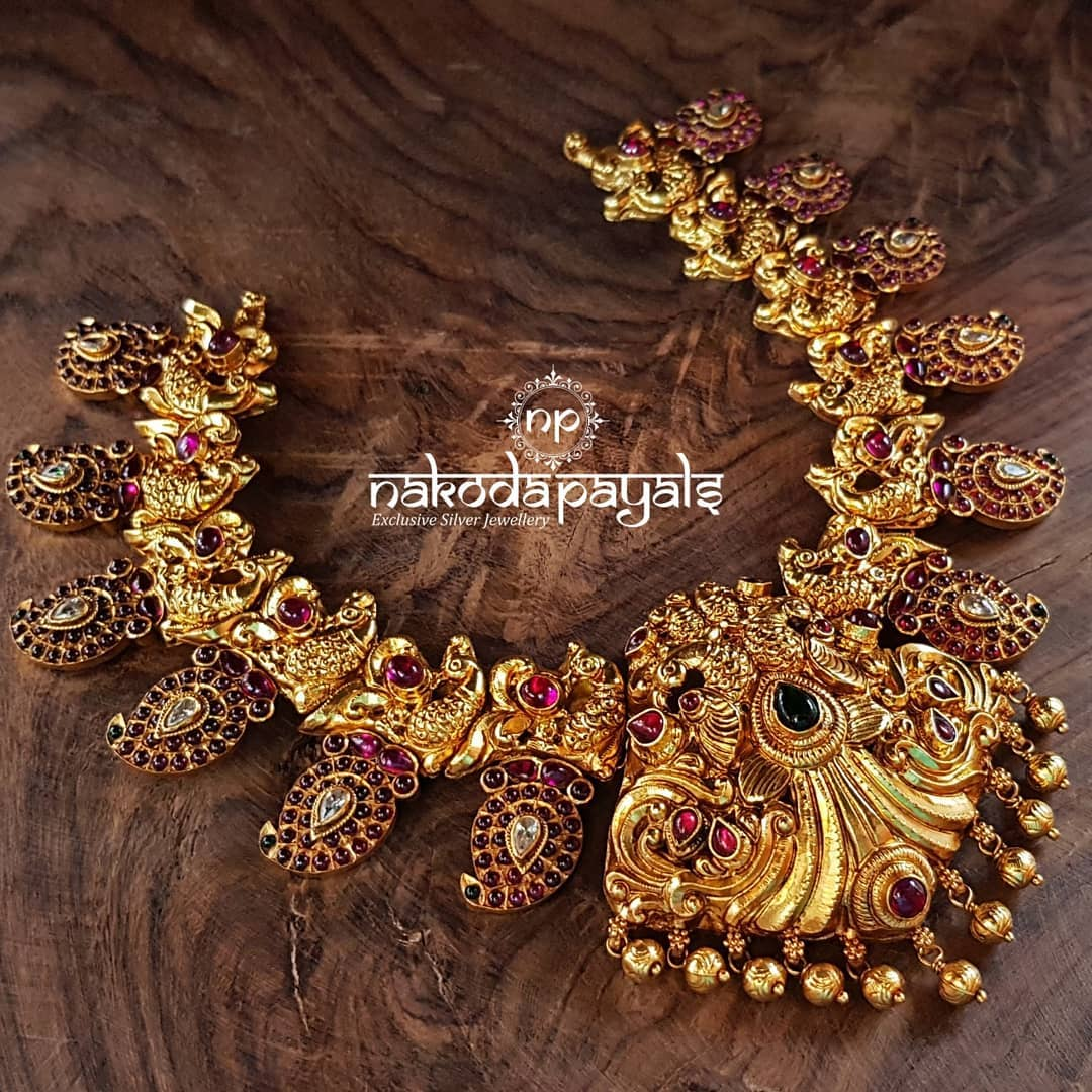 Mango-necklace-haram-designs (9)