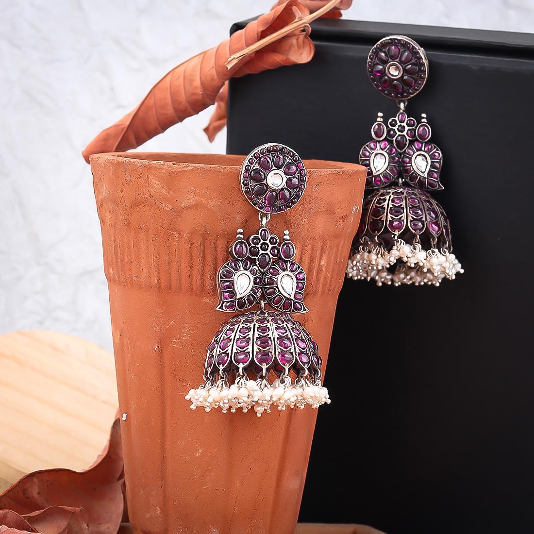 Pure Silver Earrings (13)