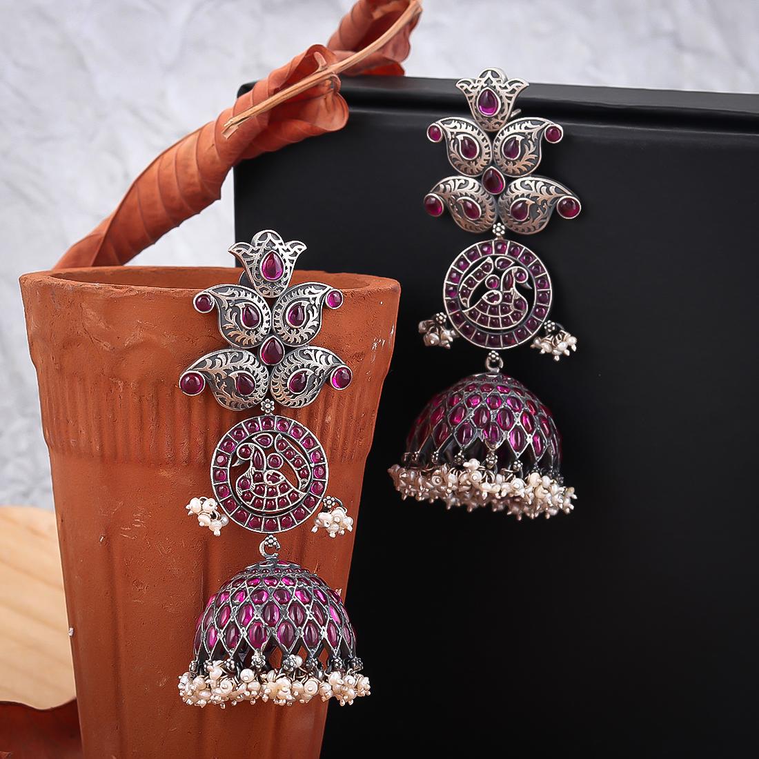 Pure Silver Earrings (14)