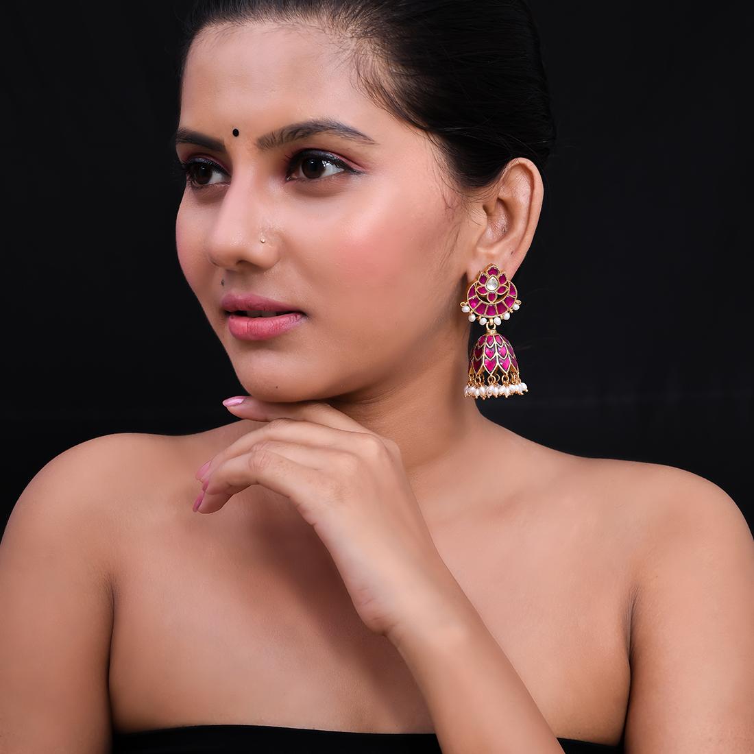 Pure Silver Earrings(4)