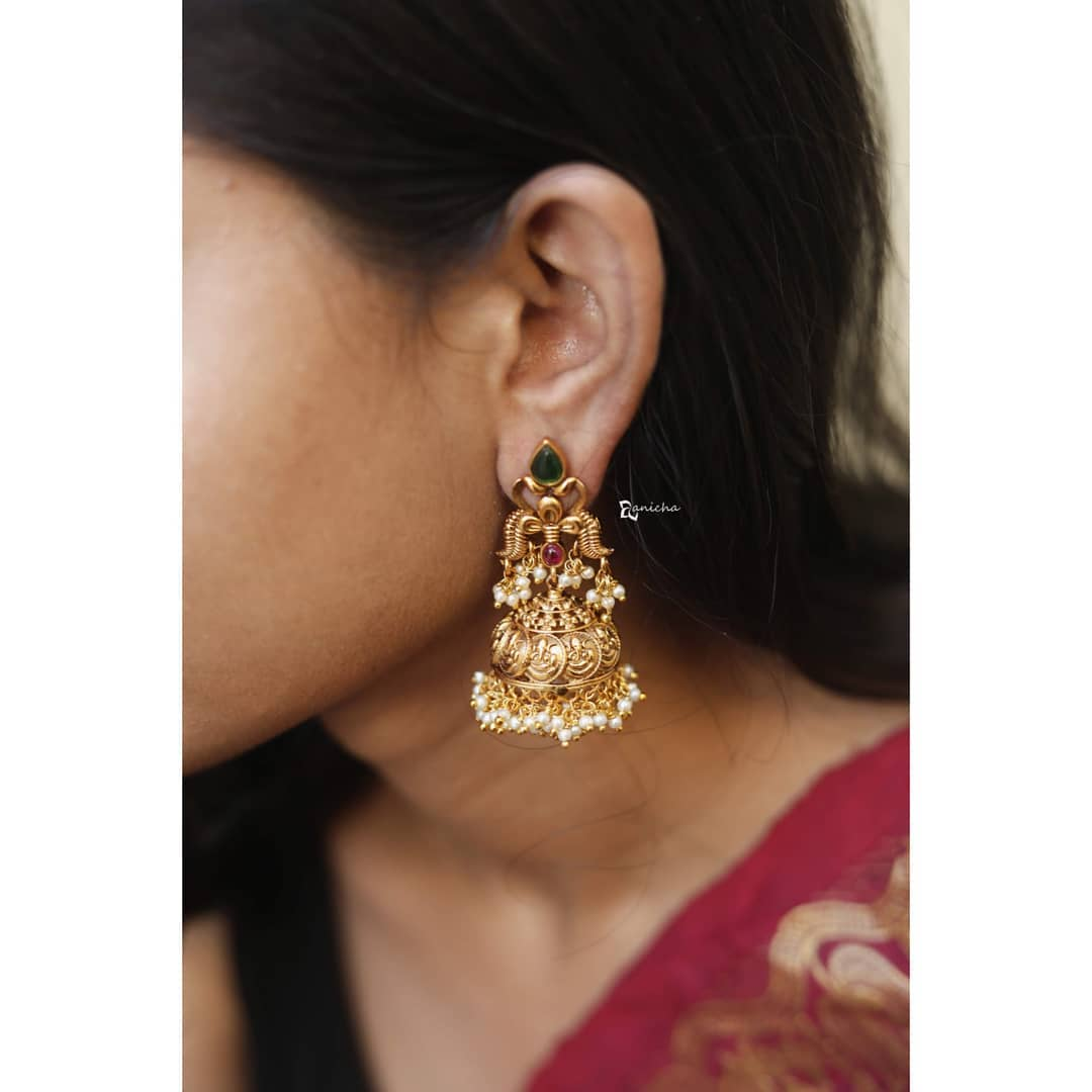 bridal-jhumka-designs (12)
