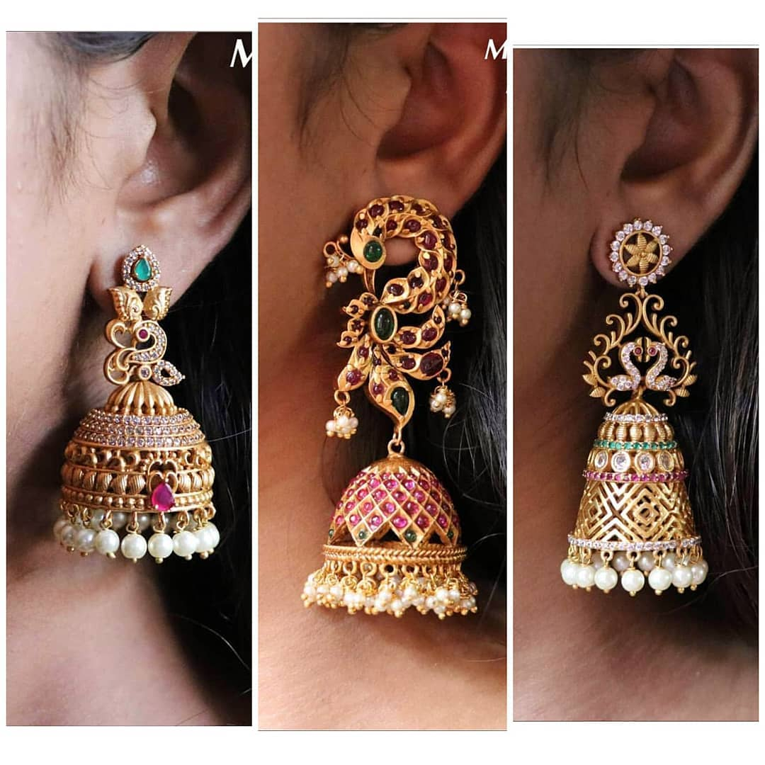 bridal-jhumka-designs (9)