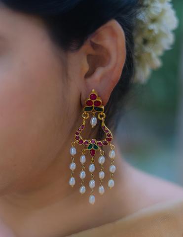 Antique Silver Earrings(9)