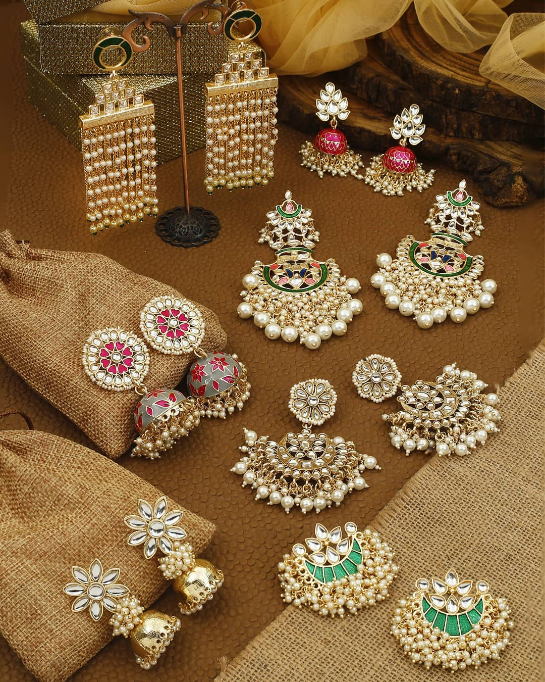 Ethnic Earrings Online(14)