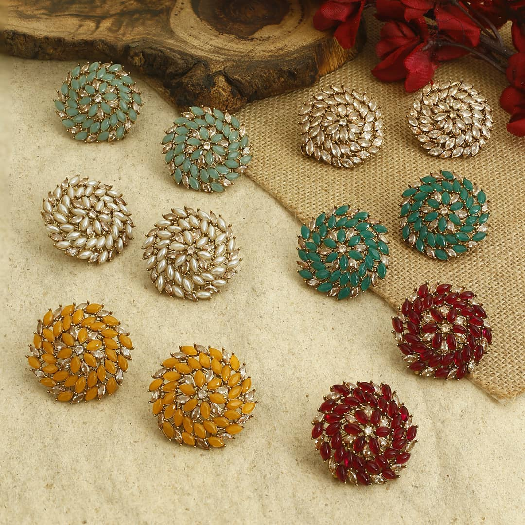 Ethnic Earrings Online(15)