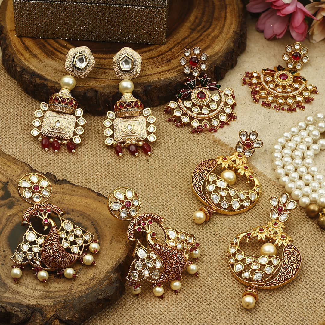 Ethnic Earrings Online(16)