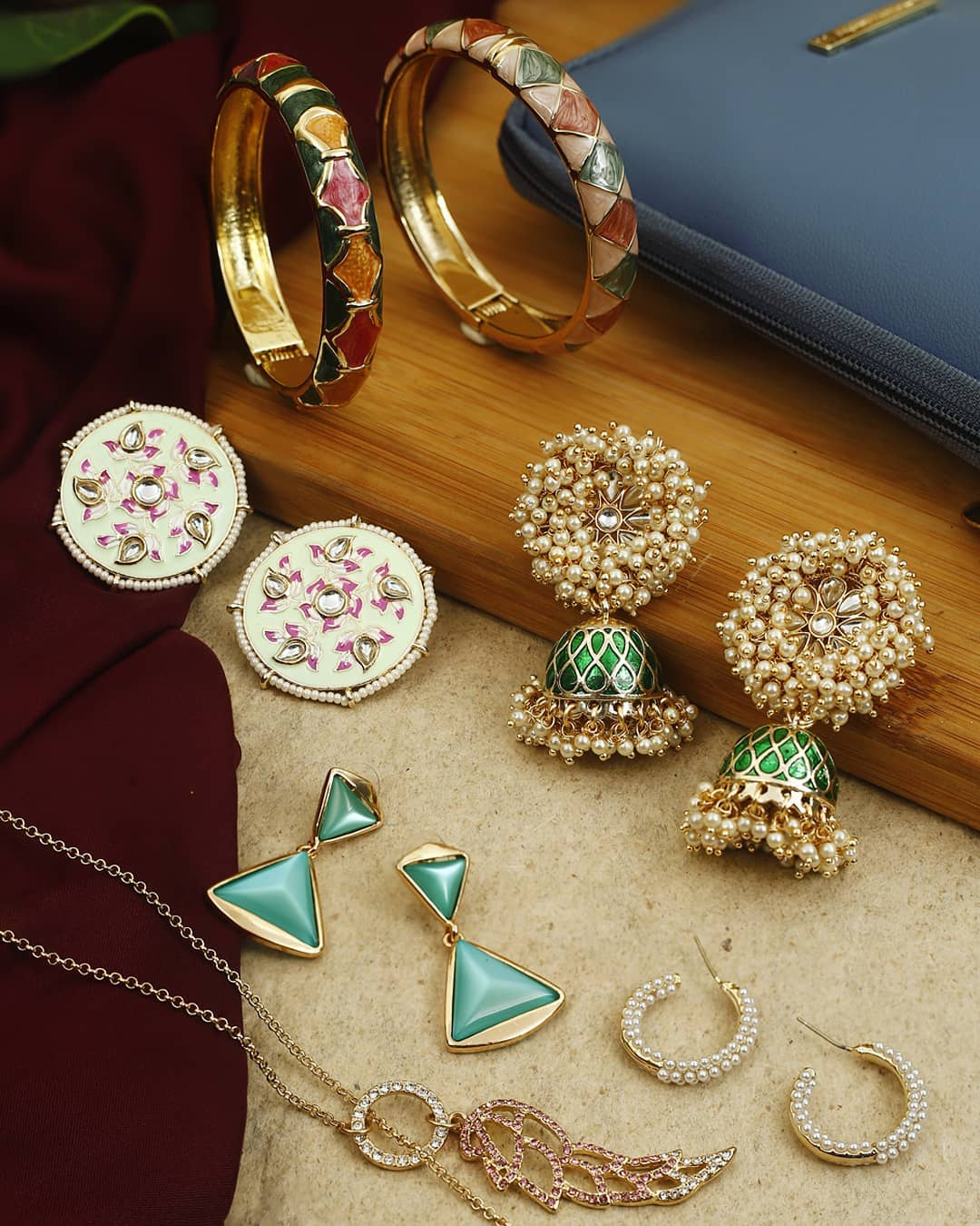Ethnic Earrings Online(18)