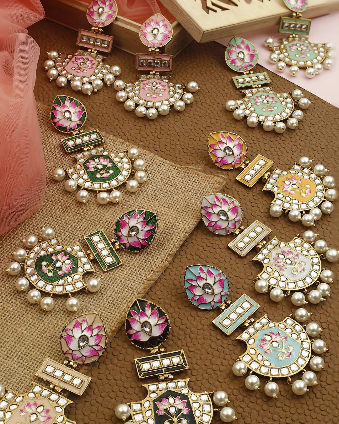 Ethnic Earrings Online(6)