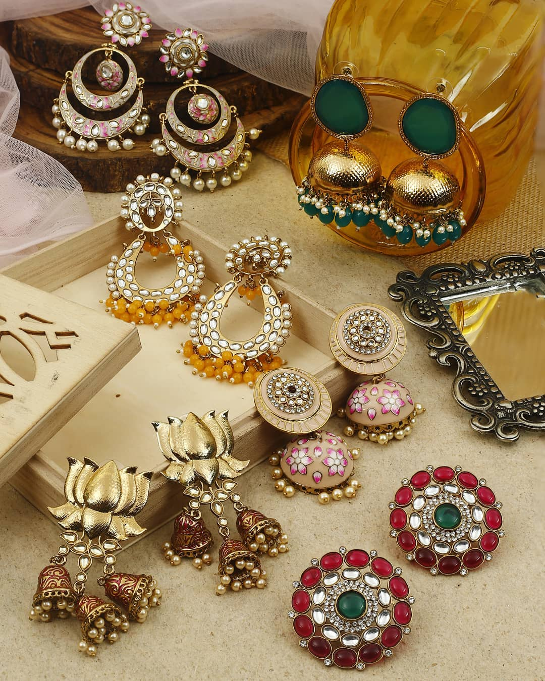 Ethnic Earrings Online(9)