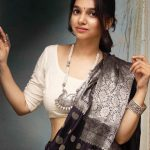 Sarees & Silver, a great combination to looking Gorgeous this winter.