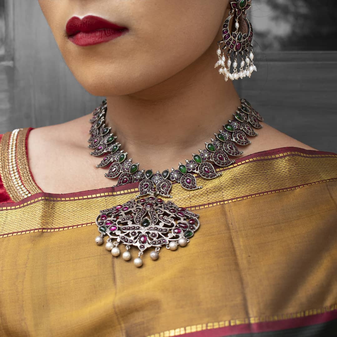 sarees-and-silver-jewellery-5