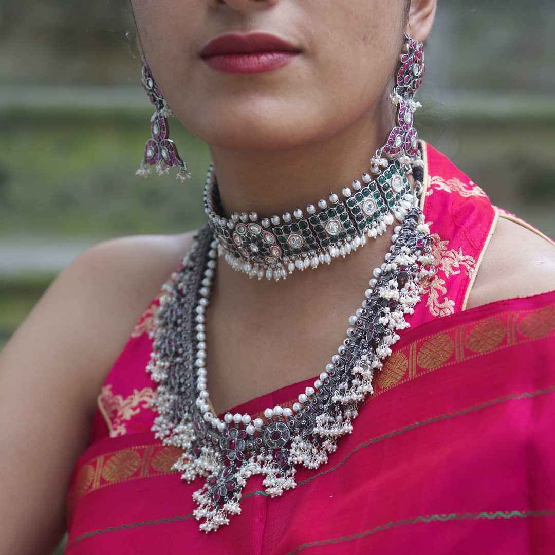 sarees-and-silver-jewellery-7