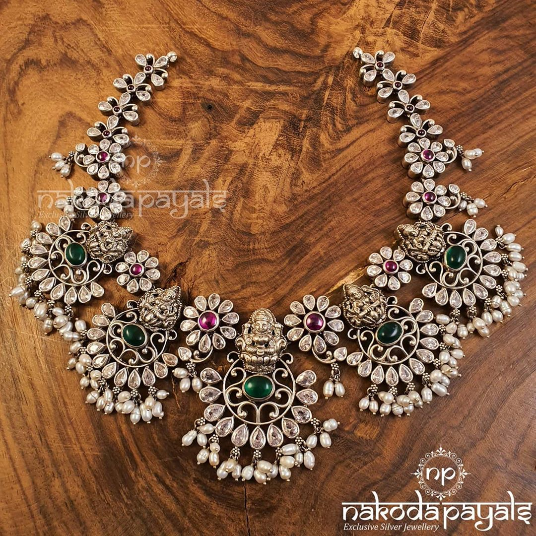 silver-choker-necklace-designs-4