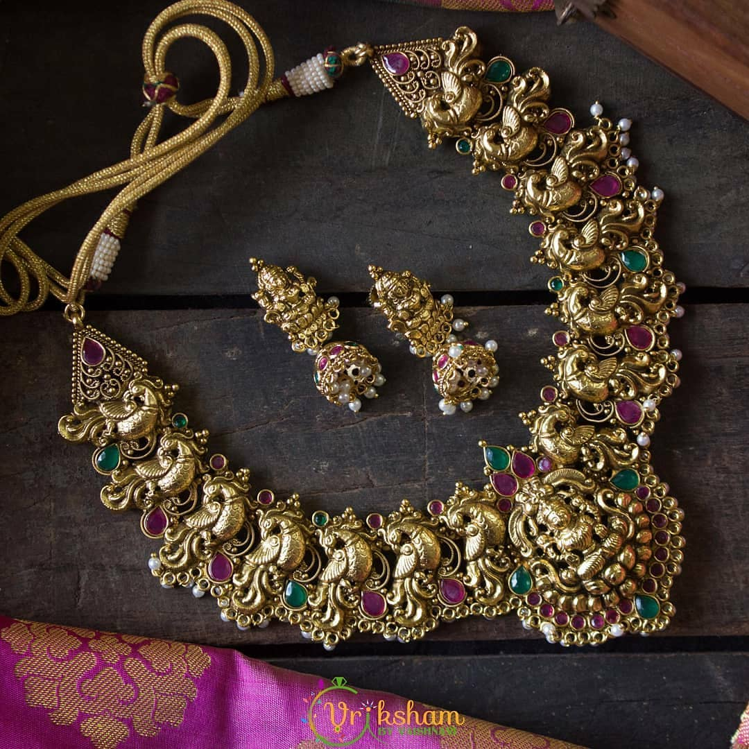 south-indian-imitation-necklace-designs-14