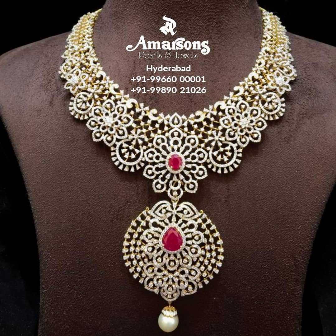 diamond-bridal-necklace-set-11