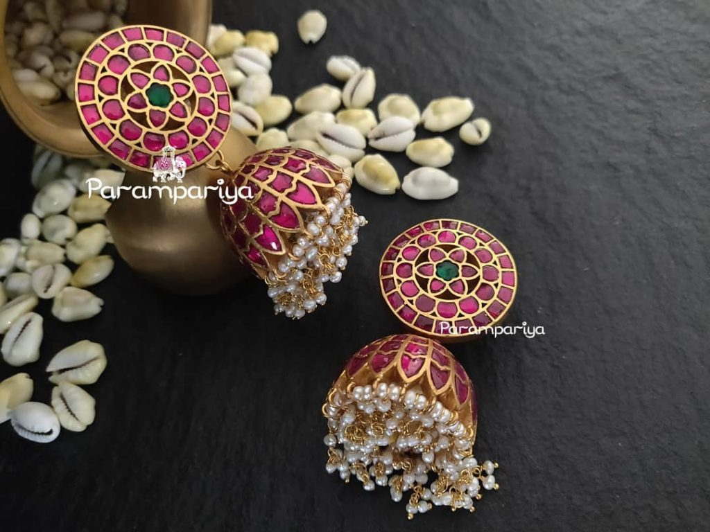gold-plated-silver-jhumkas