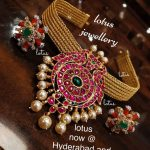 Prettiest Pure Silver Gold Plated Necklace Designs For You!!