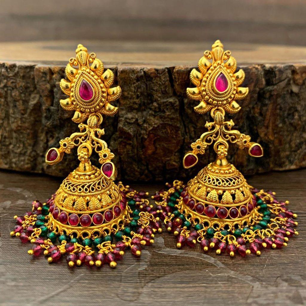 antique earrings designs-1