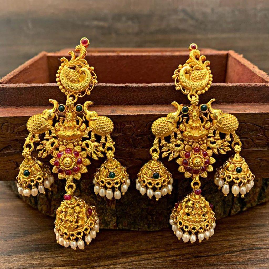 antique earrings designs-13