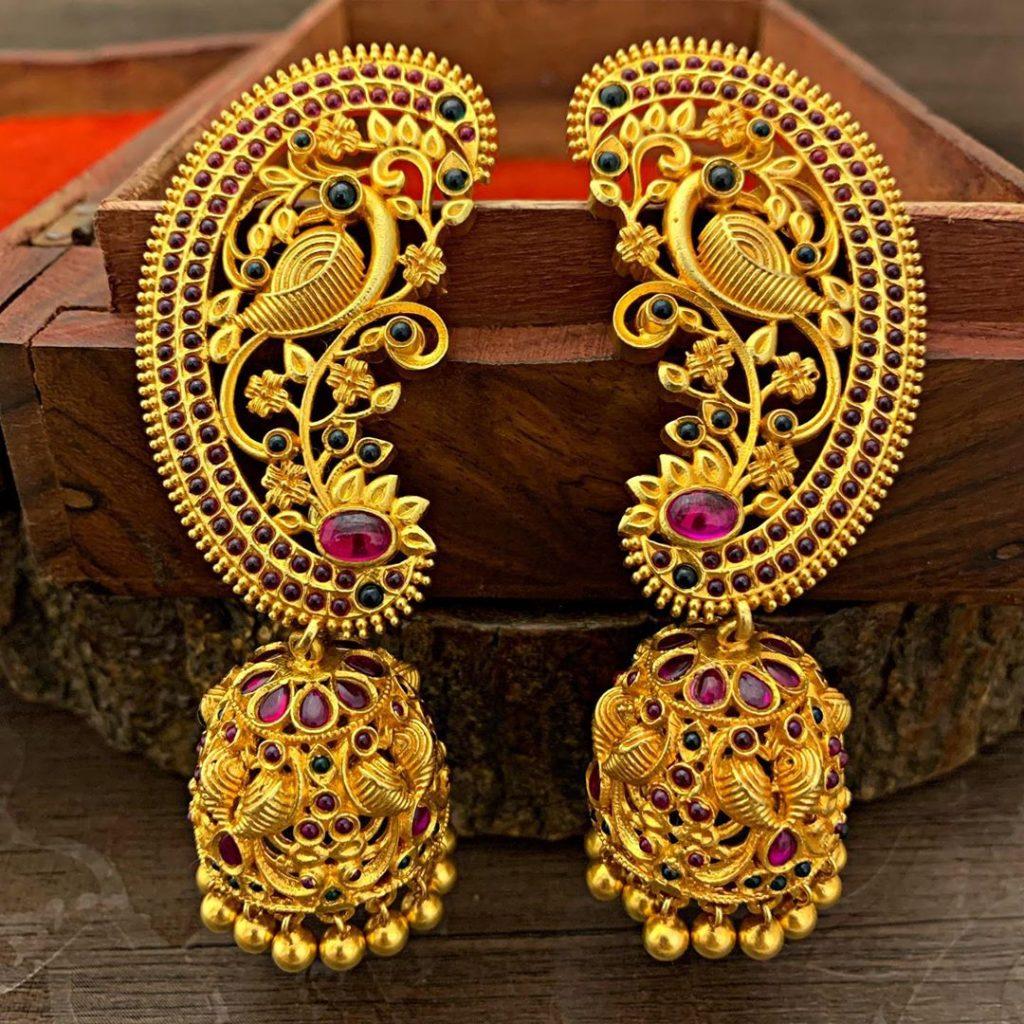 antique earrings designs-2