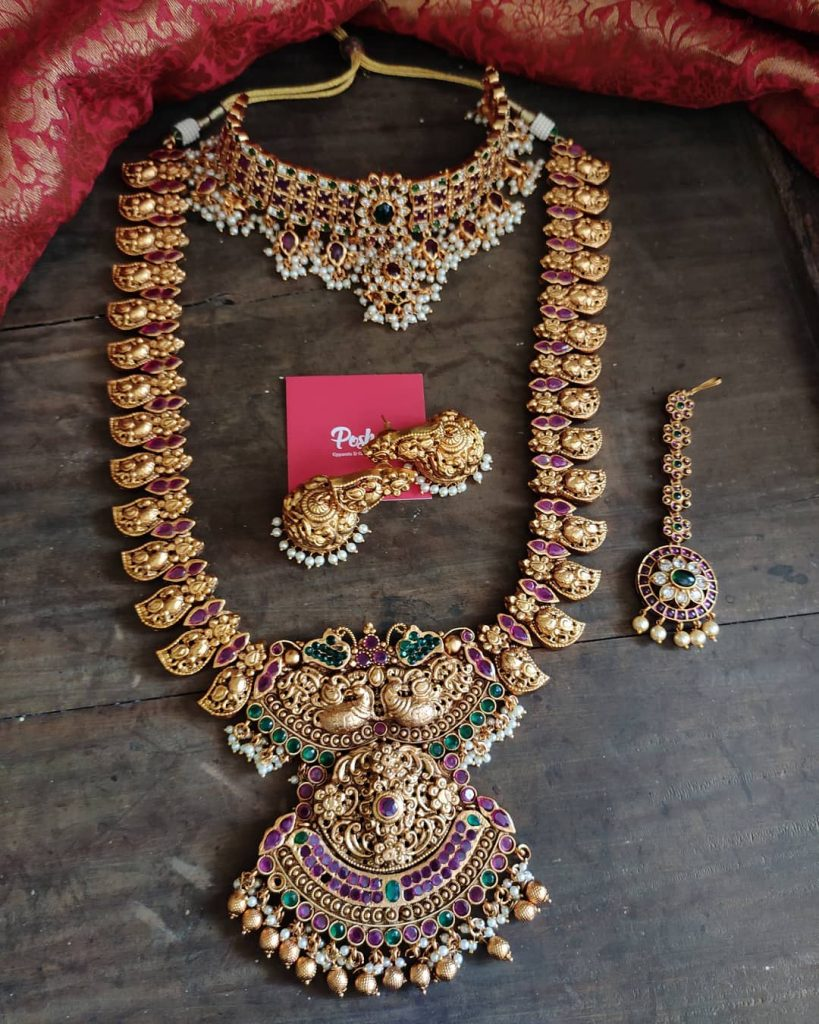 antique-southindian-necklace-designs-7antique-southindian-necklace-designs-7