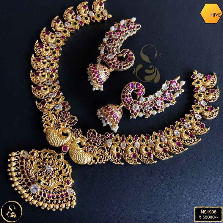 gold-plated-necklace-set
