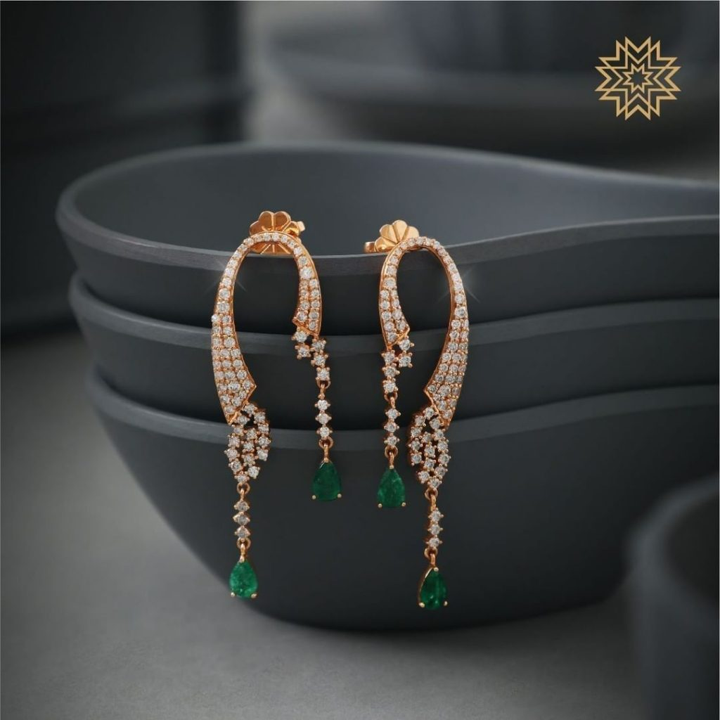indian-diamond-earrings-designs-5