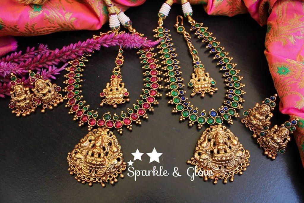 antique-lakshmi-necklace-designs-11