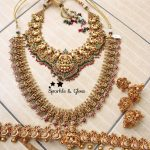 Shop The Best Classic Lakshmi Necklace Set Designs Here!