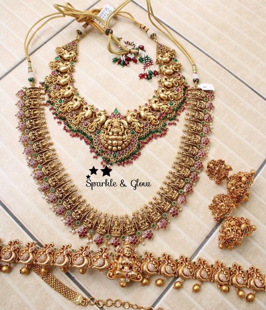 antique-lakshmi-necklace-designs-2