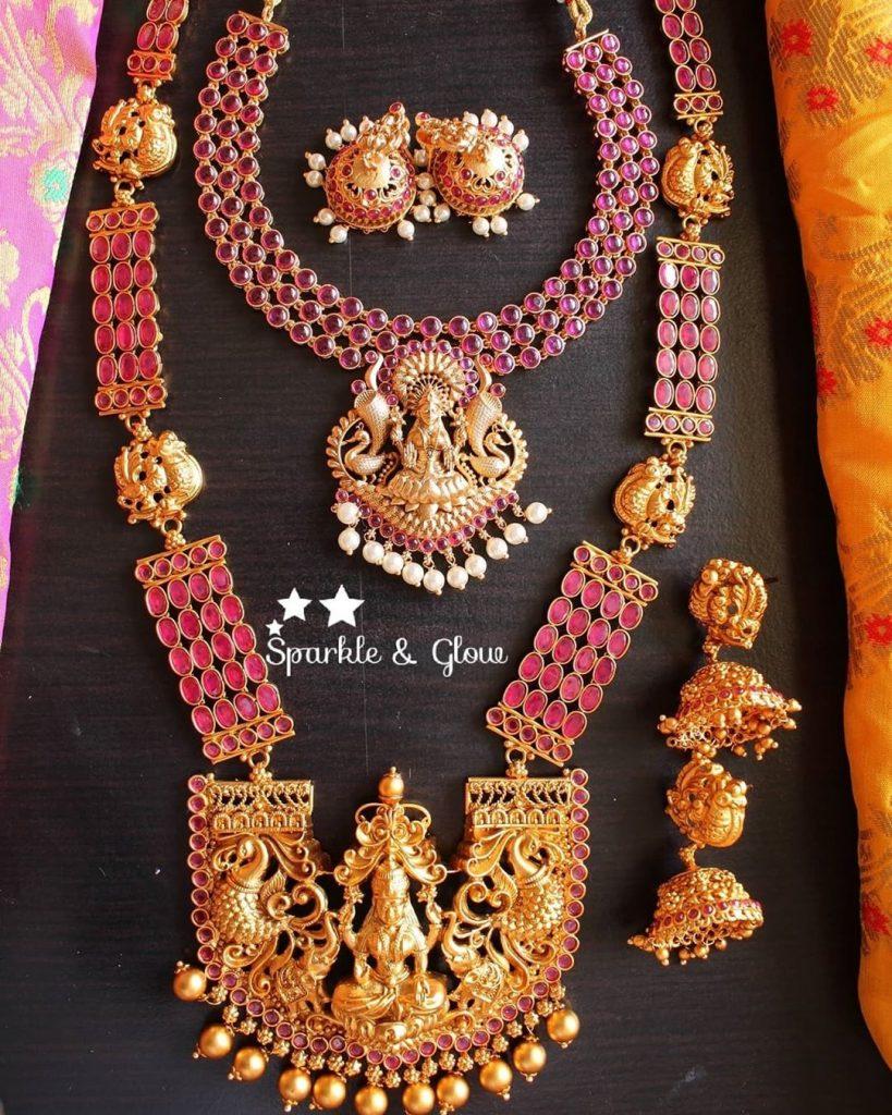 antique-lakshmi-necklace-designs-7